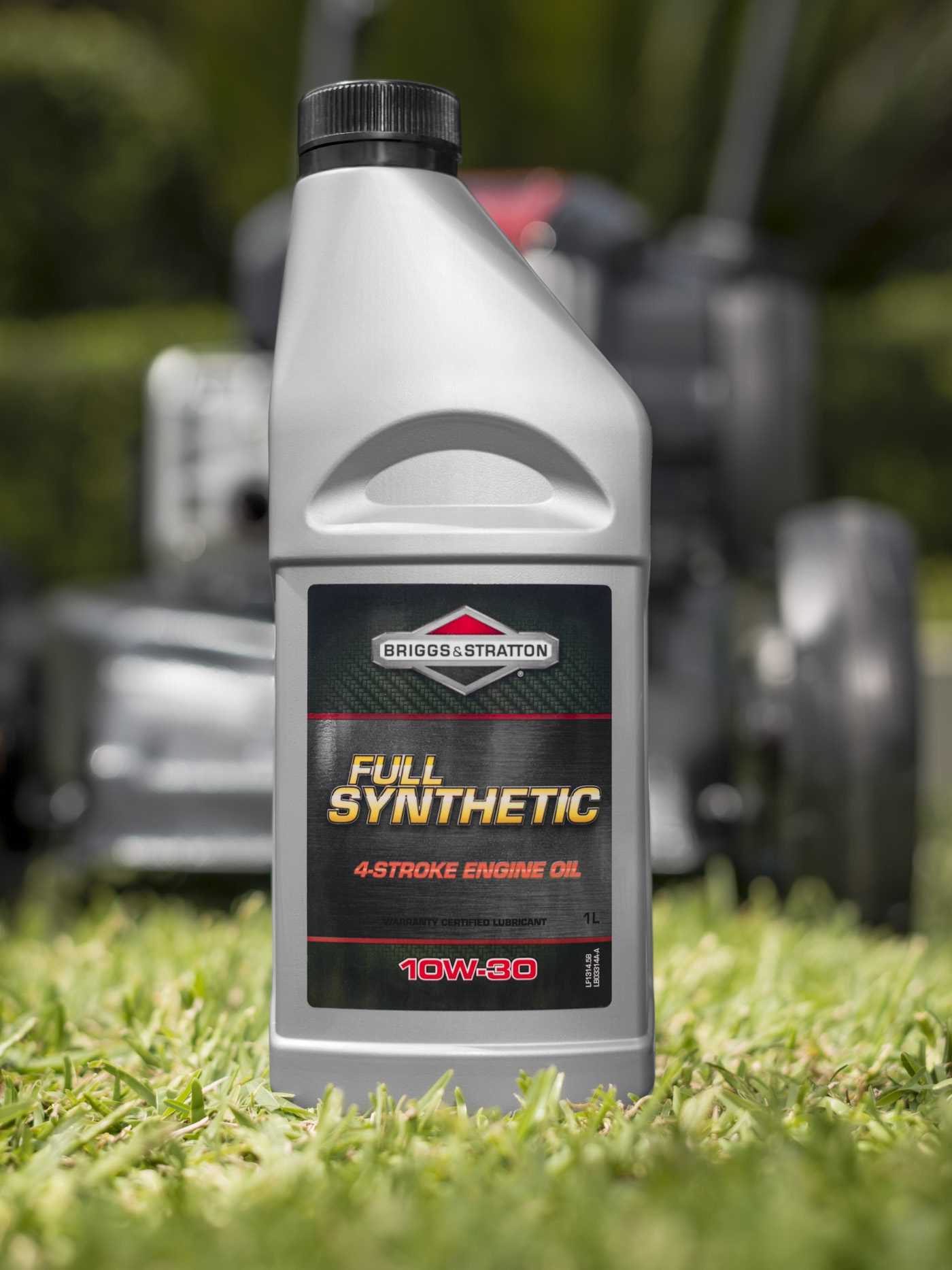 Product photography of engine oil