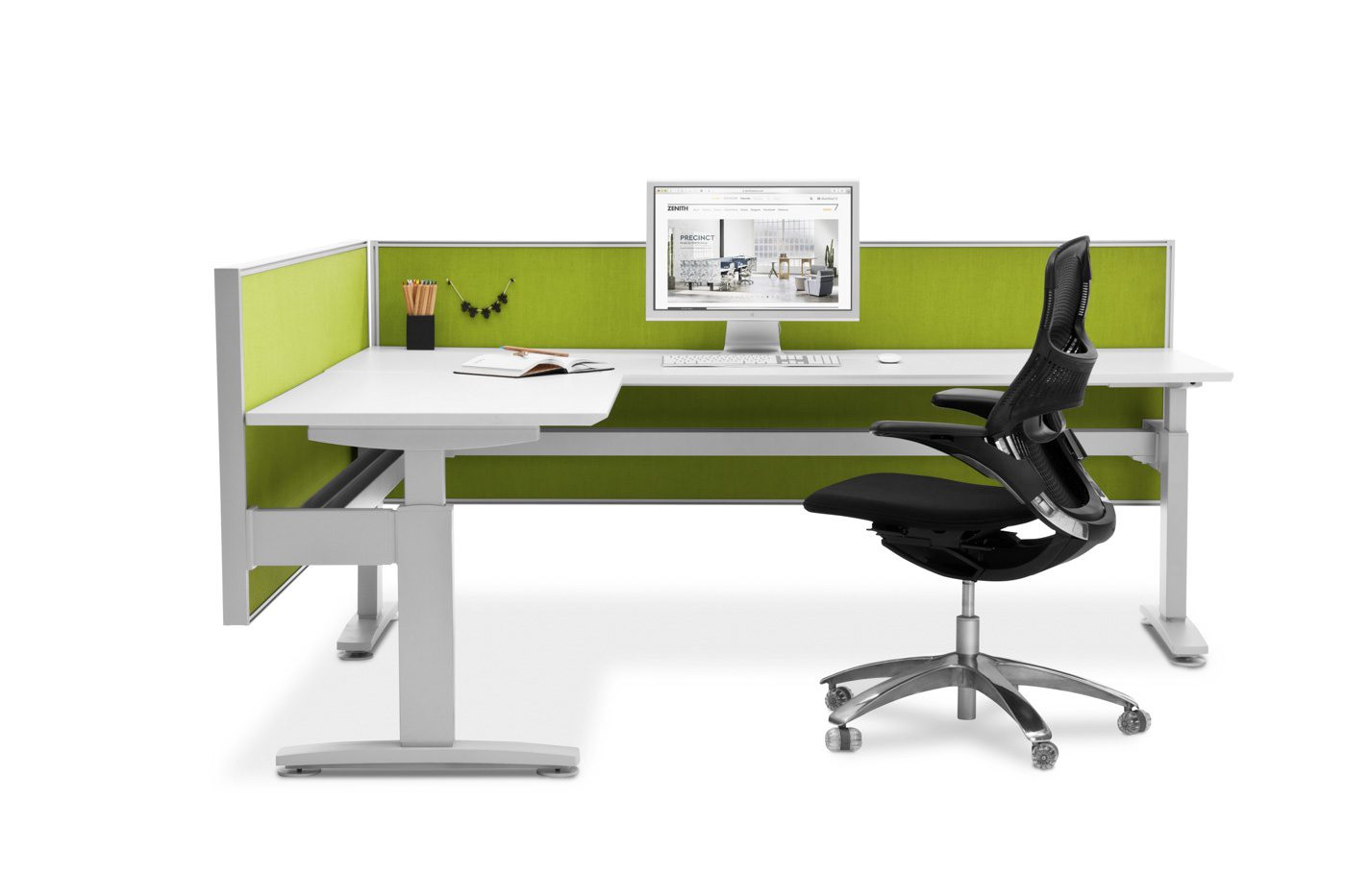 Product photography of desk and chair
