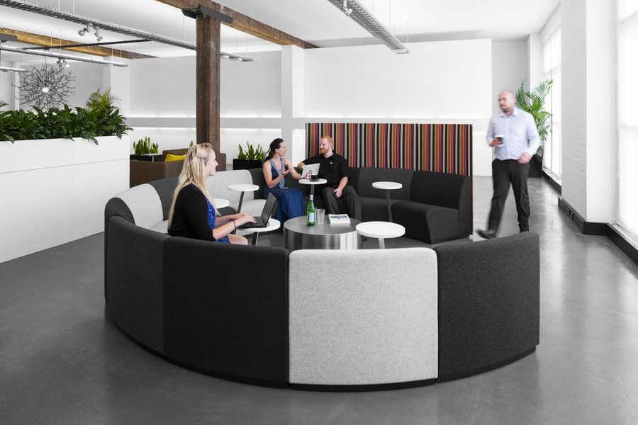 Office furniture product photography